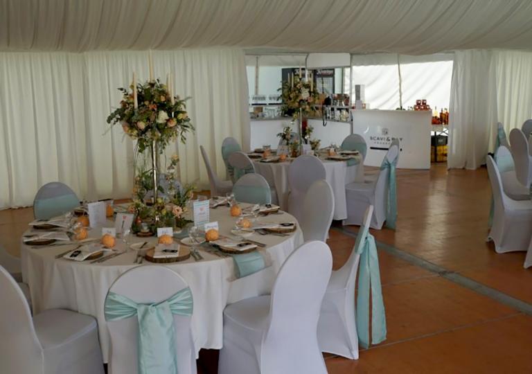 Hochzeit im Zelt 3