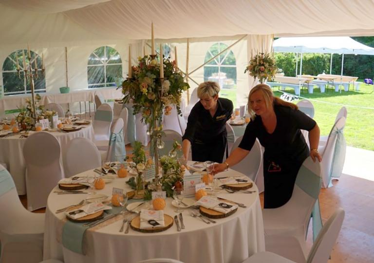 Hochzeit im Zelt 4
