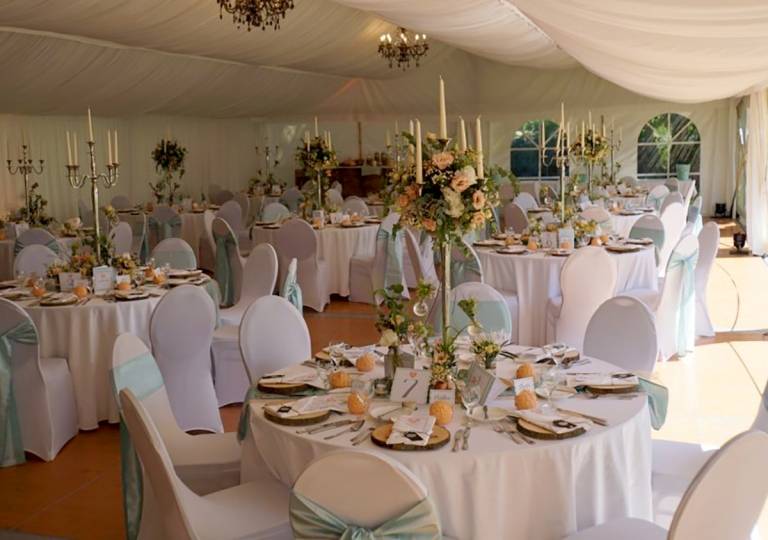 Hochzeit im Zelt 5